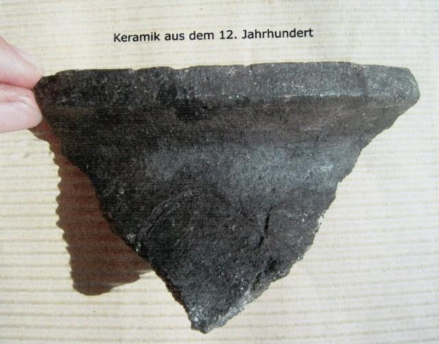 Keramik aus dem 12. Jahrhundert