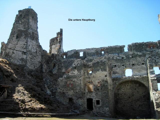Die untere Hauptburg